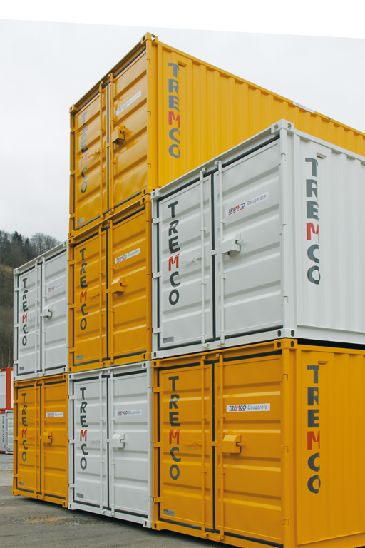 Lagercontainer - Tremco Baugeräte AG