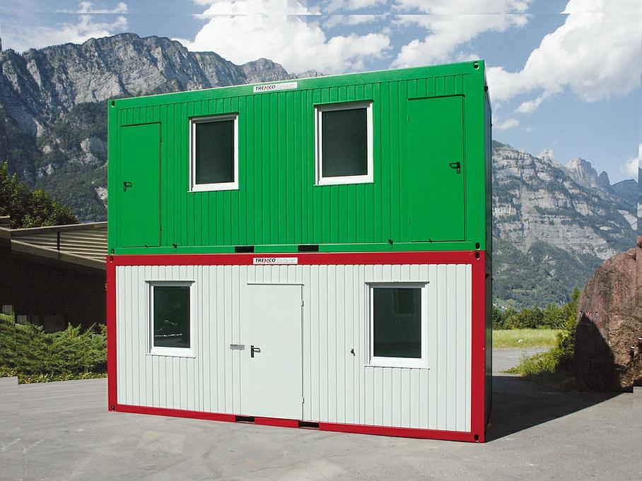 Location bureau container
