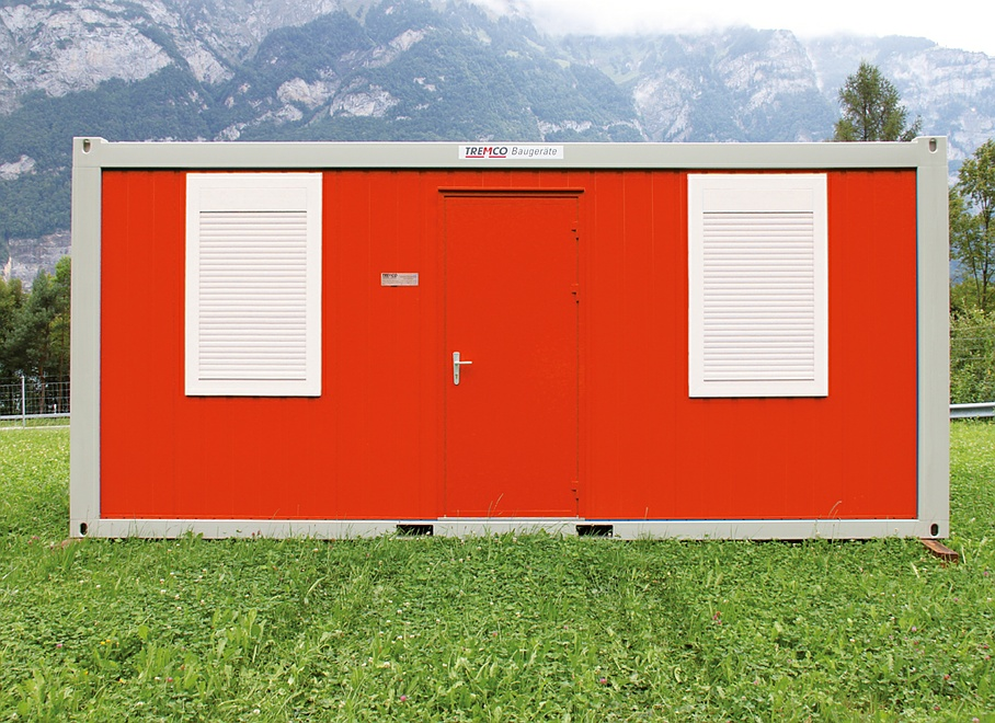 Tremco Baugeräte AG - Container type RE