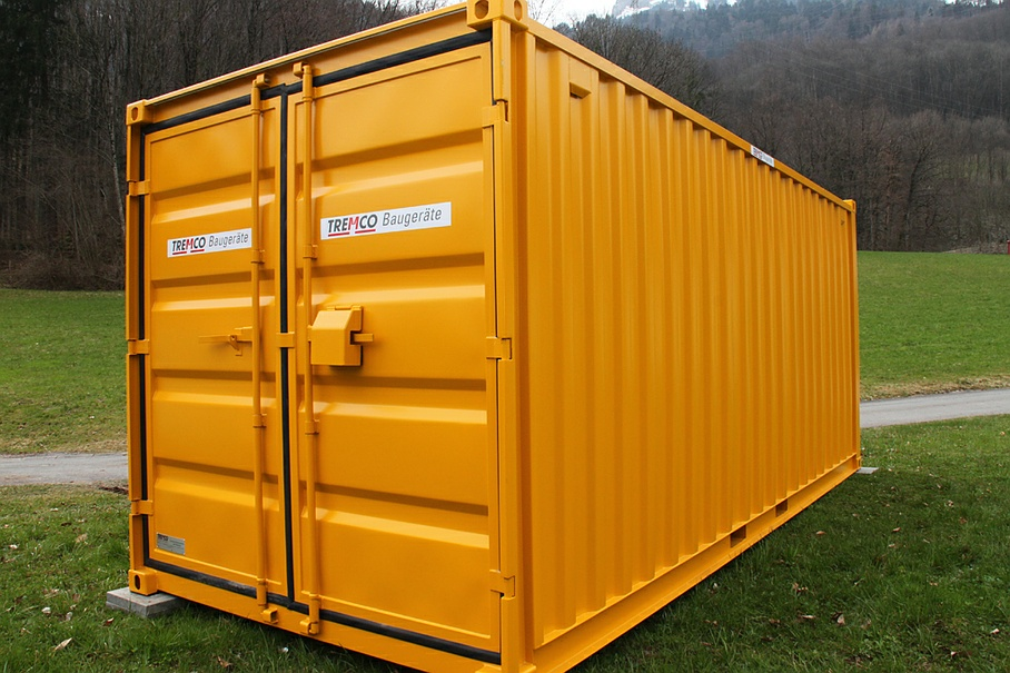 Lagercontainer (2) - Tremco Baugeräte AG